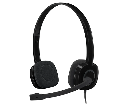 H151 Stereo Corded Headset USB