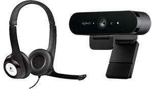 Headset and Webcam Bundle