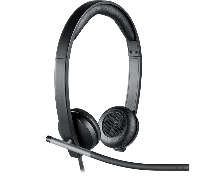H650E Stereo Corded Headset USB
